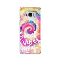 قاب سامسونگ Galaxy S8 Plus وینا مدل Tie Dye – Good Vibes Only
