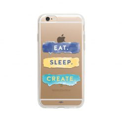 قاب آیفون 6plus/ 6splus وینا مدل Eat Sleep Create